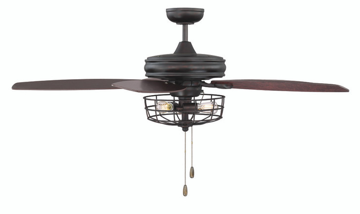 "52"" Ceiling Fan w/ Light, Lights Reimagined (80406HH)"