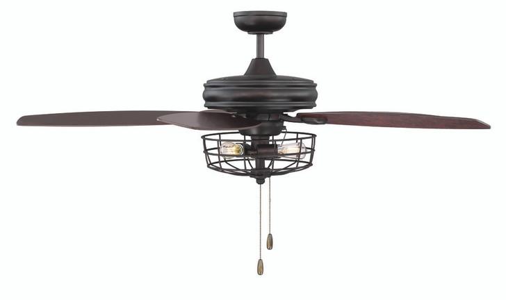 """Ceiling Fan, 5-Blade, 3-Light, Oil Rubbed Bronze, 52""""W (80406HH)"""