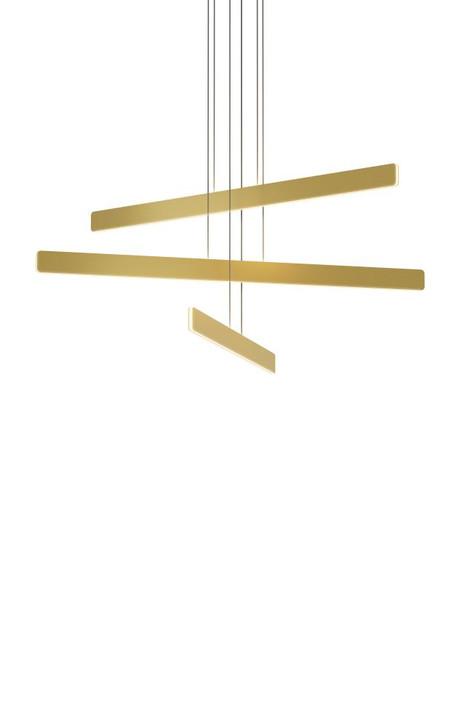 Sub Pendant Circular 3, Gold, Koncept Inc SUB-C3-SW-GLD 407UGM1