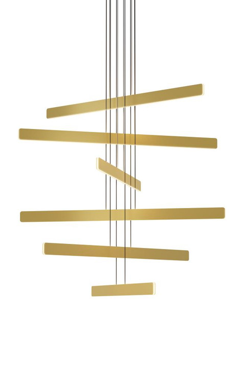 Sub Pendant Circular 6, Gold, Koncept Inc SUB-C6-SW-GLD 407UGM2