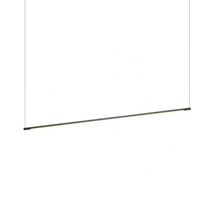 "Z-Bar Pendant Linear, Matte Black (48"" light bar), Koncept Inc ZBP-48-L-SW-MTB-CNP 407UGLR"
