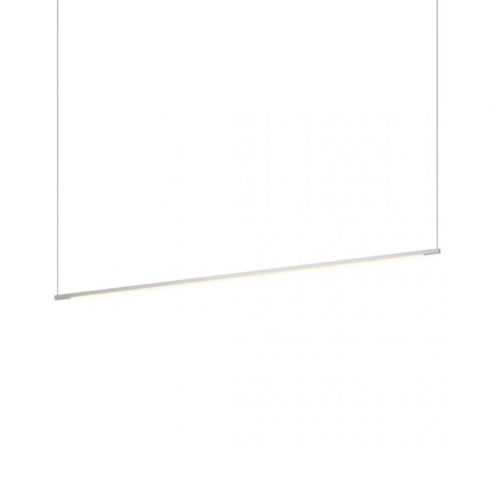 "Z-Bar Pendant Linear, Silver (48"" light bar), Koncept Inc ZBP-48-L-SW-SIL-CNP 407UGLT"