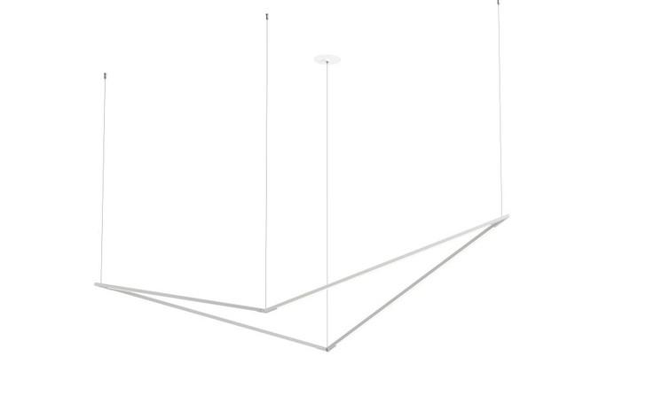 "Z-Bar Pendant Large Bird, Silver (36"" light bars), Koncept Inc ZBP-36-B-SW-SIL-CNP 407UGLL"