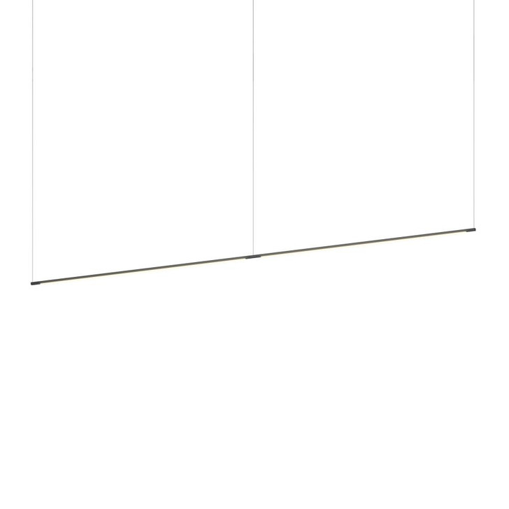 "Z-Bar Pendant Linear, Matte Black, 96"" (2 x 48"" light bars), Koncept Inc ZBP-96-L-SW-MTB-CNP 407UGLU"