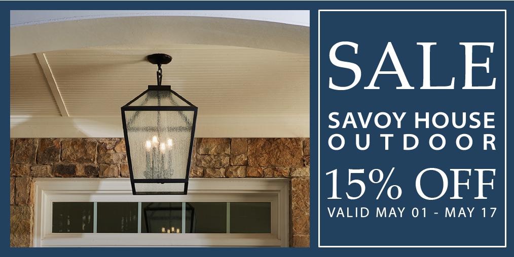 Savoy House Sale
