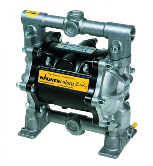 Wagner Zip 52 Stainless Steel Double Diaphragm Pump