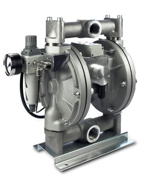Wagner PM500 Low Pressure Diaphragm Pump | Aluminum Housing, Nickel-Coated (U509.A0A)