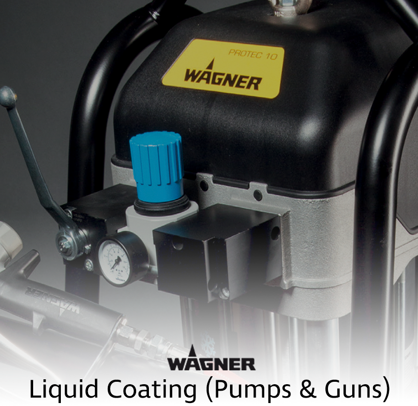 Wagner Pumps & Spray Guns Spare Parts