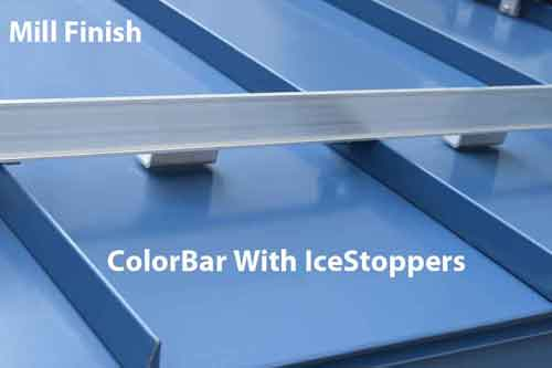 ColorBar With IceStoppers