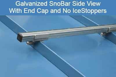 SnoBar Installed No IceStoppers
