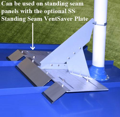 HD Mounted on SS VentSaver Plate