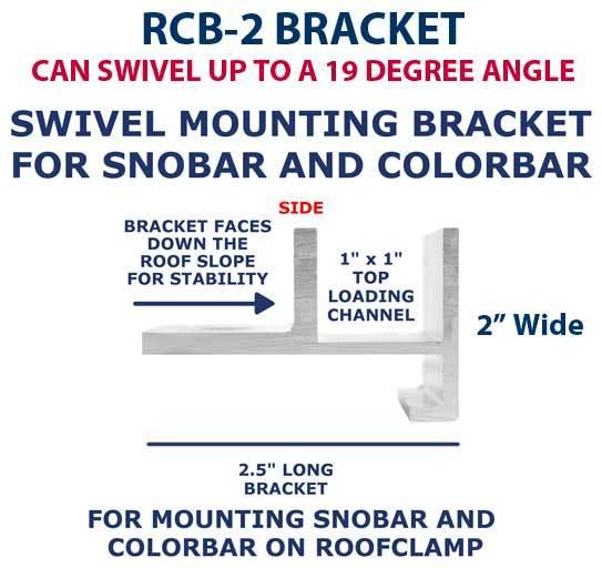 RCB-2 Mounting Bracket Side View
