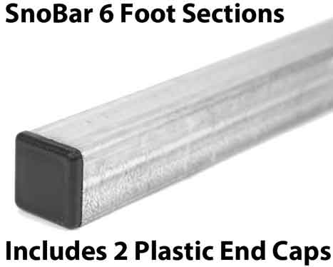 6 Foot SnoBar Sections