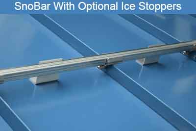 SnoBar Installed With IceStoppers