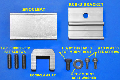 SnoCleat Components