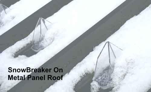 SnowBreaker Breaking Snow