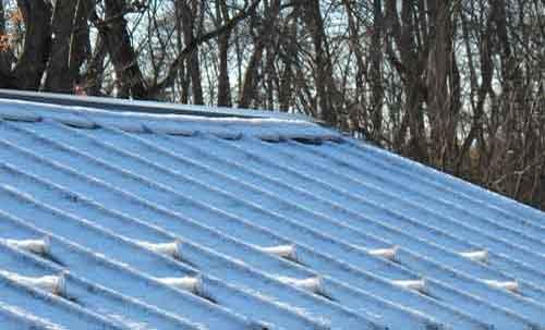 SnowBreaker On Roof