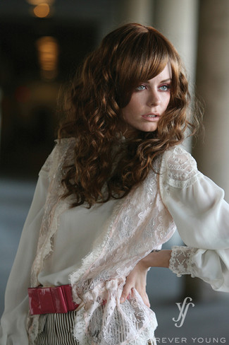 Roll With It Long Curly Synthetic Wig by Forever Young