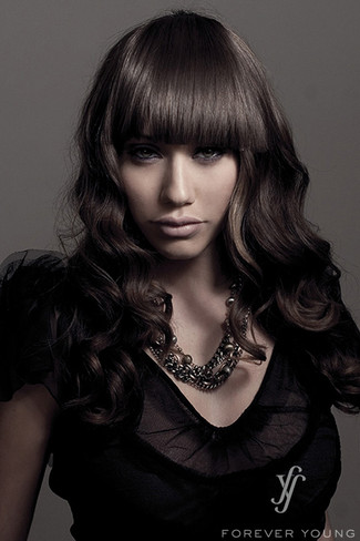 Sleek Finish Bang Synthetic Bang Hairpiece by Forever Young