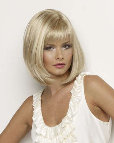 Petite Paige Synthetic Hand Tied Monotop Wig by Envy