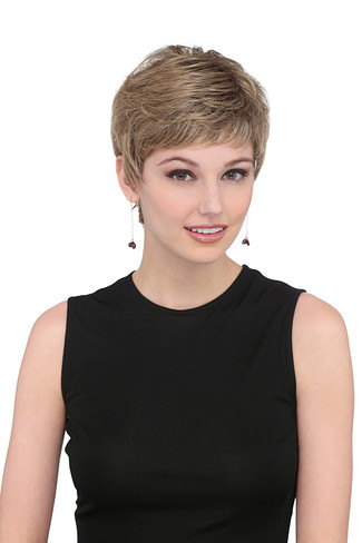 7011P Coco Petite Synthetic Monotop Wig by Louis Ferre