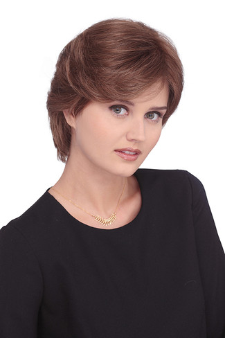 7021P Meg Petite Monotop Synthetic Wig by Louis Ferre