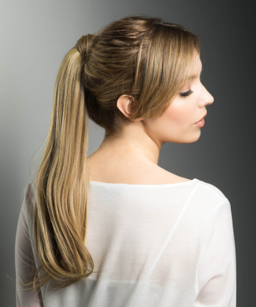 """Pony Wrap 18"""" Synthetic Ponytail Hairpiece by Estetica"""