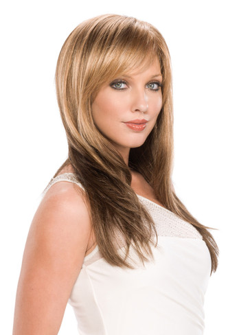 Bennett Rooted Hand Tied Lace Front Monotop Synthetic Wig by Tony of Beverly