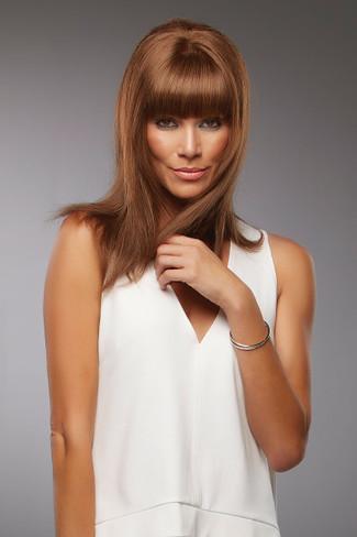 Sienna Lace Front Monotop Remy Human Hair Wig by Jon Renau