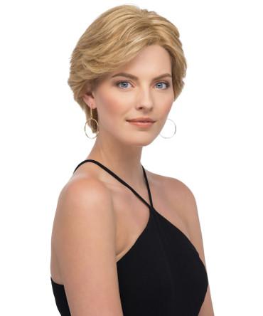 Sabrina Human Hair Front Lace Line Mono Top Wig by Estetica