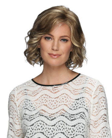 Violet Synthetic Front Lace Line Wig by Estetica