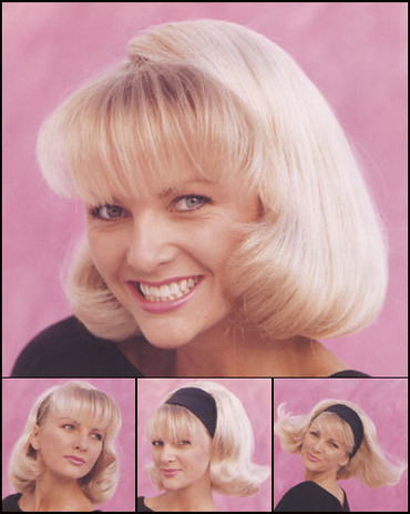 Mod 3/4 Cap Synthetic Wig by Tony of Beverly
