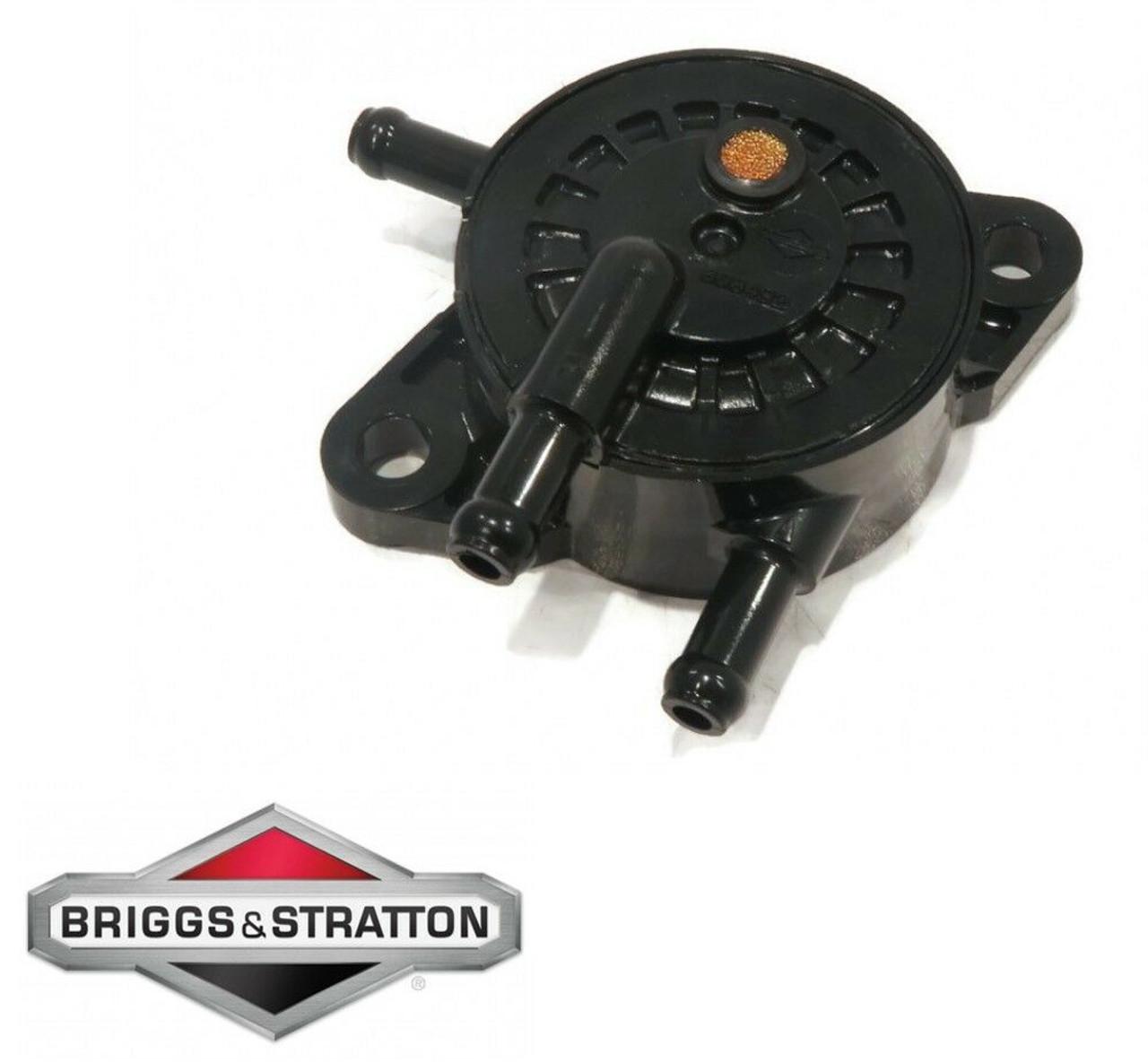 Briggs & Stratton NEW OEM Fuel Pump PT# 597338