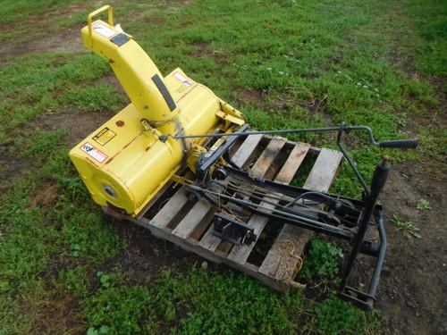 John Deere STX30 or STX38 snowblower Attachment
