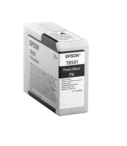 Epson SureColor P800 UltraChrome® HD Ink Cartridge 80ml - Photo Black