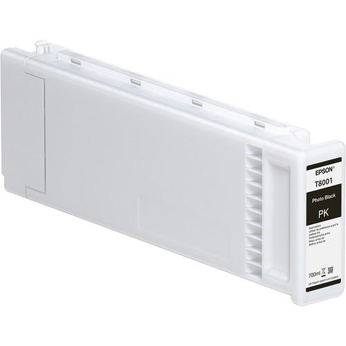 UltraChrome Pro T800 Ink Cartridge 700ml Photo Black for Epson SureColor P10000 & SureColor P20000 (T800100)