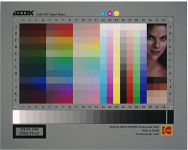 Aztek Q60 Color ICC Input Target / 4X5 Film