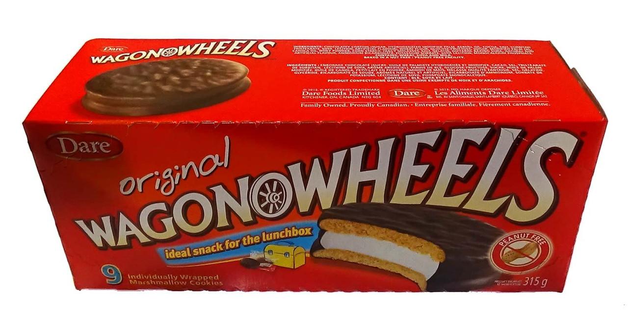 Wagon Wheels Original Chocolate Covered Marshmallow Cookies 9ct 2pk Caffeine Cams Coffee Candy Company Inc