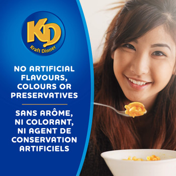 KD Kraft Dinner Original Macaroni & Cheese, 225g/7.9 oz. {Imported from Canada}