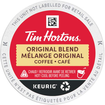 Keurig Tim Horton's Original K-Cup Pods, 30-pk {Imported from Canada}
