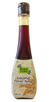 King Island 100% Coconut Flower Nectar(Syrup), 450ml/15.21oz {Imported from Canada}