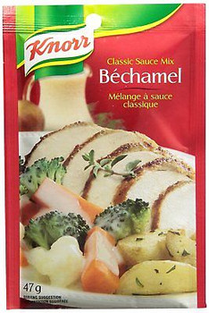 Knorr Bechamel Classic Sauce Mix 47g, 12 count {Imported from Canada}
