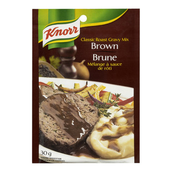 Knorr Classic Roast Gravy Mix, Brown, 30g/1.1oz  {Imported from Canada}