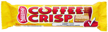 Nestle Coffee Crisp Chocolate Candy Bar, 50g/1.8oz {Imported from Canada}