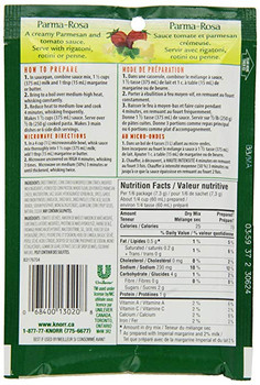 Knorr Pasta Sauce Mix, Parma Rosa, 44g/1.6oz {Imported from Canada}