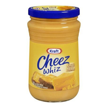 Kraft Cheez Whiz Original, 450g/15.9 oz. ,Made with Real Cheese  {Imported from Canada}