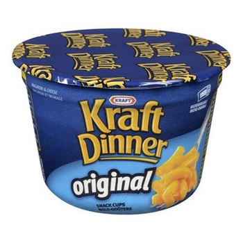 Kraft Original Macaroni & Cheese Snack Cup, 58g/2 oz.,  {Imported from Canada}