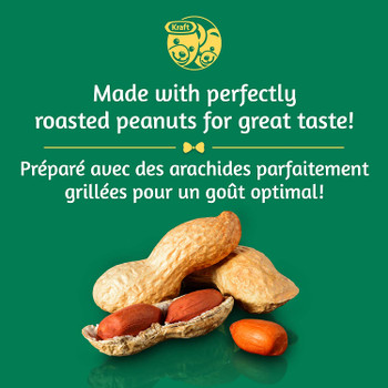 Kraft Peanut Butter Smooth 2 Kg/4.4 lbs. {Imported From Canada}