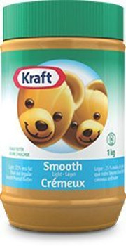 Kraft Peanut Butter (Smooth Light Peanut Butter, 1 KG) {Imported from Canada}