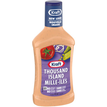 KRAFT Thousand Island Dressing, 475ml/16.1oz  {Imported from Canada}